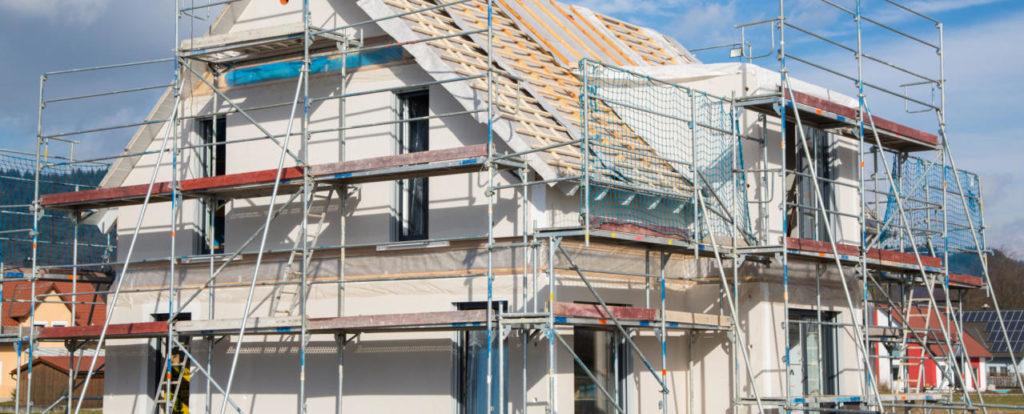 Haus in Bau